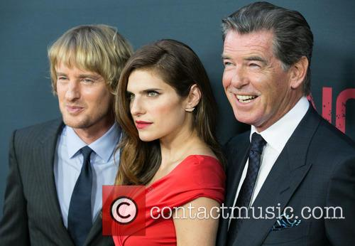 Owen Wilson, Lake Bell and Pierce Brosnan 3