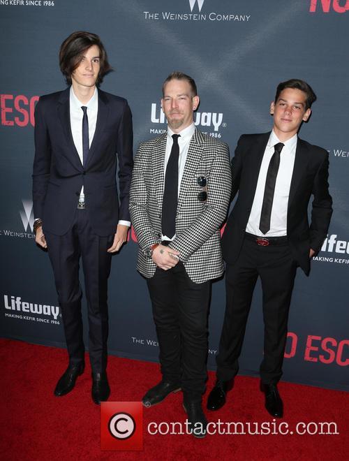 Sean Brosnan, Dylan Brosnan and Paris Brosnan 3