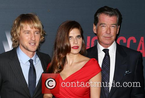 Owen Wilson, Lake Bell and Pierce Brosnan 6