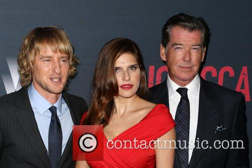 Owen Wilson, Lake Bell and Pierce Brosnan 7