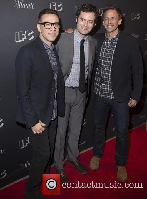 Fred Armisen, Bill Hader and Seth Meyers 2