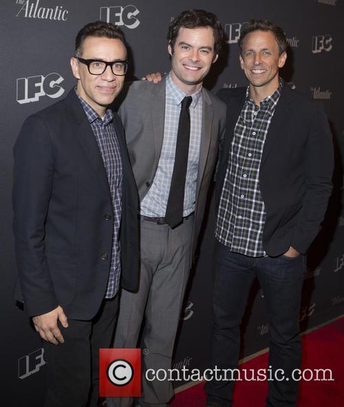 Fred Armisen, Bill Hader and Seth Meyers 1