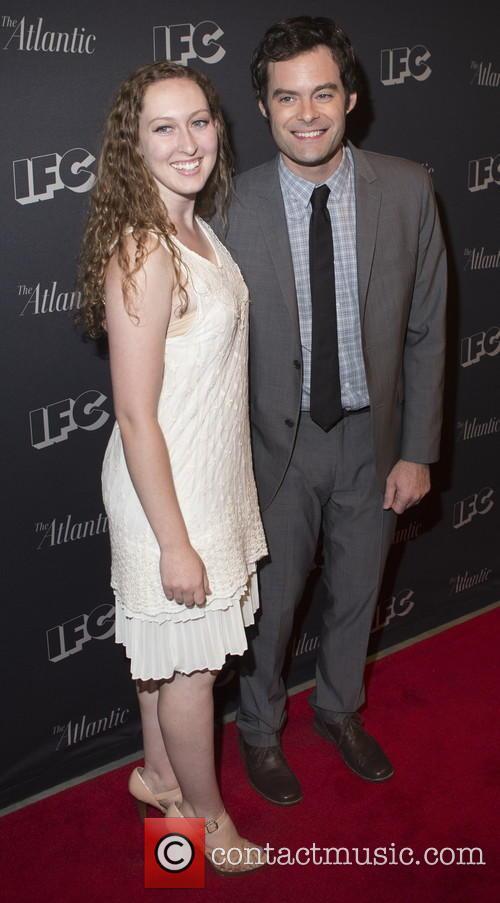 Grace Aroune and Bill Hader 1