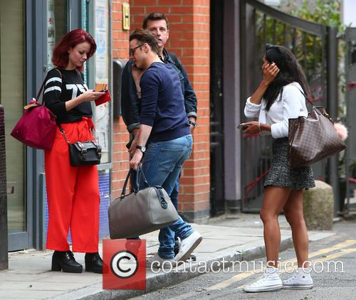 Karen Hauer, Joanne Clifton and Kevin Clifton 2