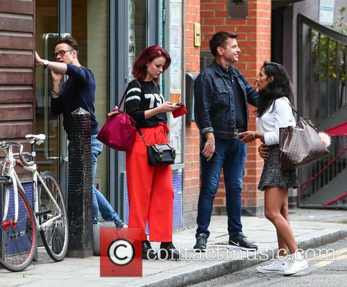 Karen Hauer, Joanne Clifton and Kevin Clifton 1