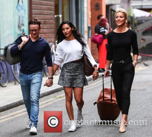 Kevin Clifton, Karen Hauer and Natalie Lowe 3