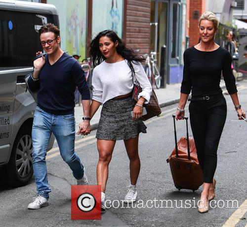 Kevin Clifton, Karen Hauer and Natalie Lowe 1