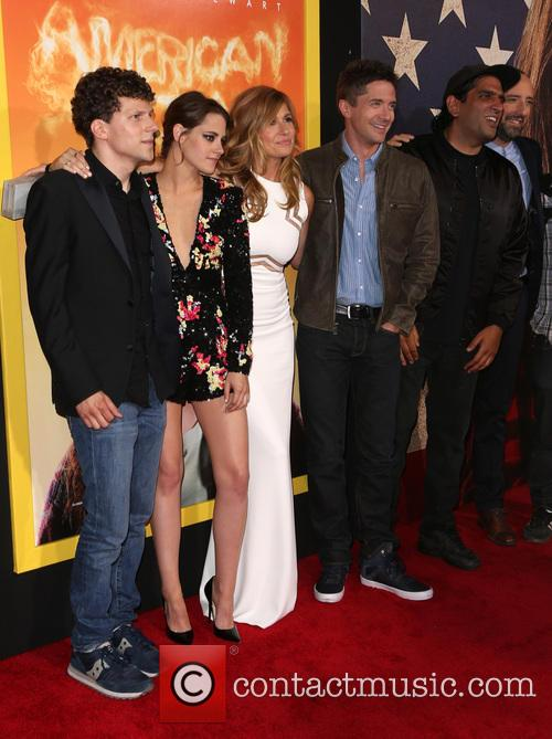 Jesse Eisenberg, Kristen Stewart, Connie Britton, Topher Grace and Tony Hale 1