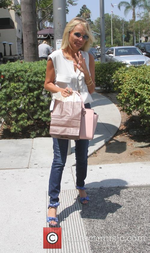 Kristin Chenoweth goes shopping in Beverly Hills