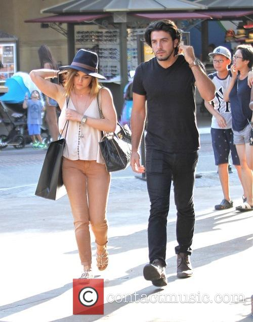 Lucy Hale and Anthony Kalabretta 8