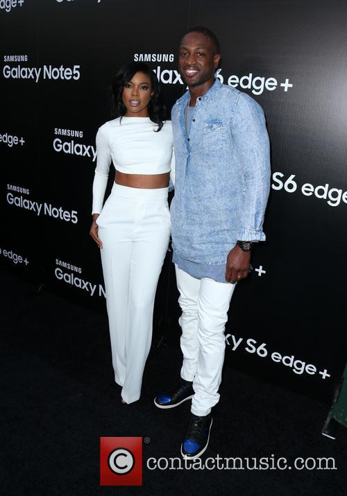 Gabrielle Union and Dwyane Wade 3