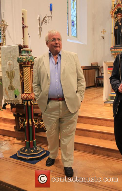 Christopher Biggins visits St Mary's Church