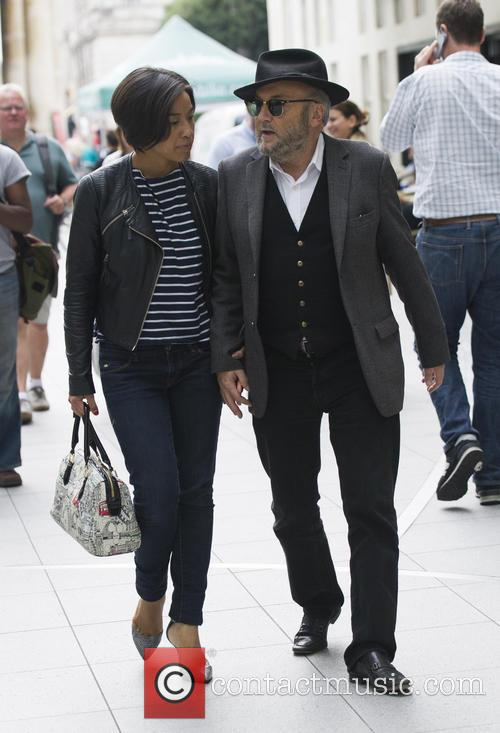 George Galloway and Putri Gayatri 2