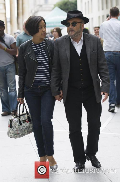 George Galloway and Putri Gayatri 6
