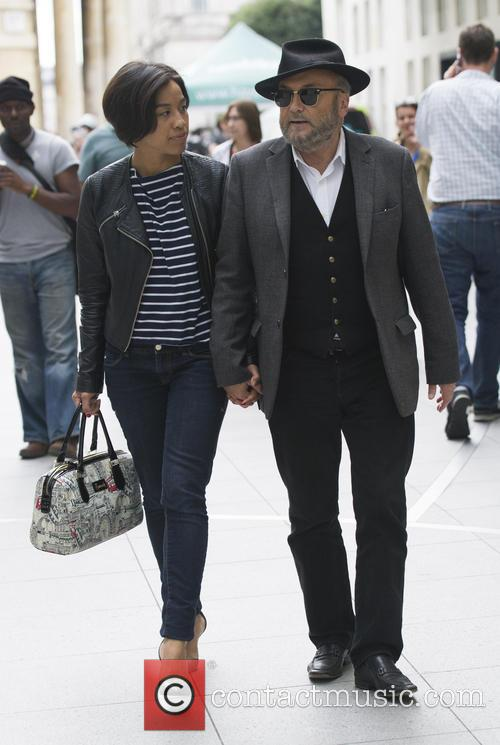 George Galloway and Putri Gayatri 7