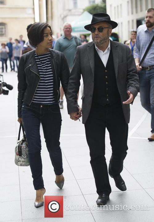 George Galloway and Putri Gayatri 1