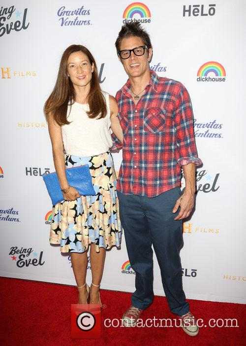 Naomi Nelson and Johnny Knoxville 1