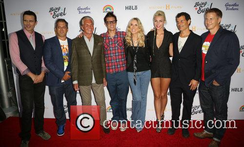 Ashley Hamilton, Jeff Tremaine, George Hamilton, Johnny Knoxville, Alana Stewart, Maty Noyes, Mat Hoffman and Daniel Junge