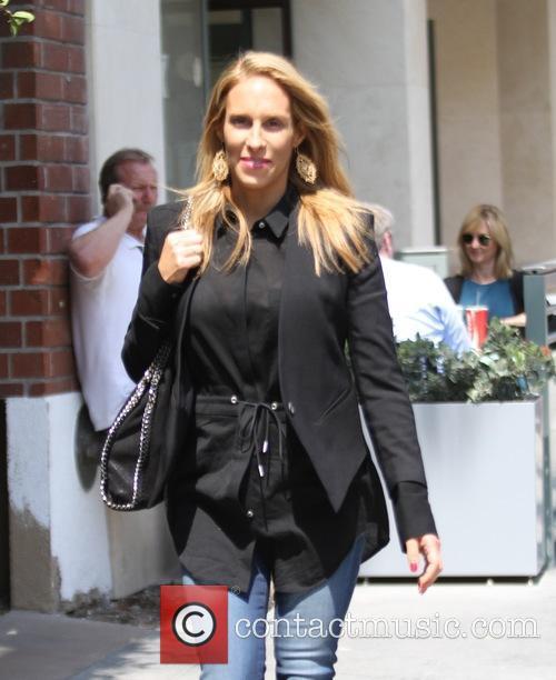 Jenn Berman goes shopping in Beverly Hills