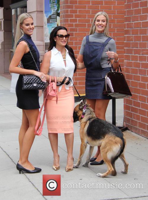Monica Berg, Camilla Berg and Kyle Richards 2