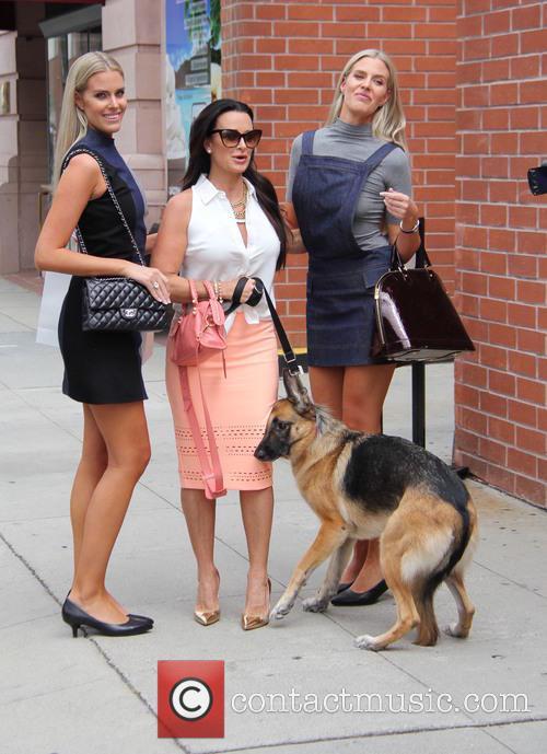 Monica Berg, Camilla Berg and Kyle Richards 3