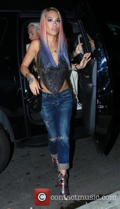 Rita Ora at Warwick Nightclub