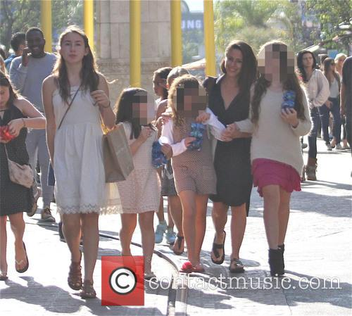 Soleil Moon Frye, Poet Sienna Rose Goldberg, Jagger Joseph Blue Goldberg and Lyric Sonny Roads Goldberg 4