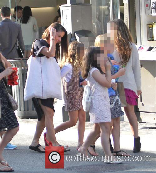 Soleil Moon Frye, Poet Sienna Rose Goldberg, Jagger Joseph Blue Goldberg and Lyric Sonny Roads Goldberg 6