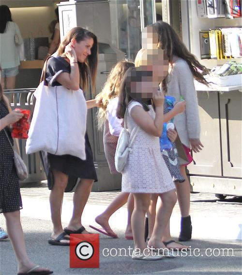 Soleil Moon Frye, Poet Sienna Rose Goldberg, Jagger Joseph Blue Goldberg and Lyric Sonny Roads Goldberg 7