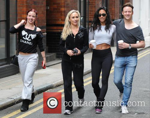 Kevin Clifton, Joanne Clifton, Karen Clifton, Kristina Rihanoff and Gleb Savchenko 3