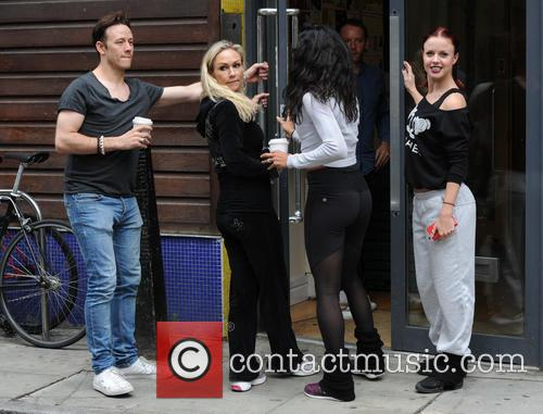 Kevin Clifton, Joanne Clifton, Karen Clifton, Kristina Rihanoff and Gleb Savchenko 11