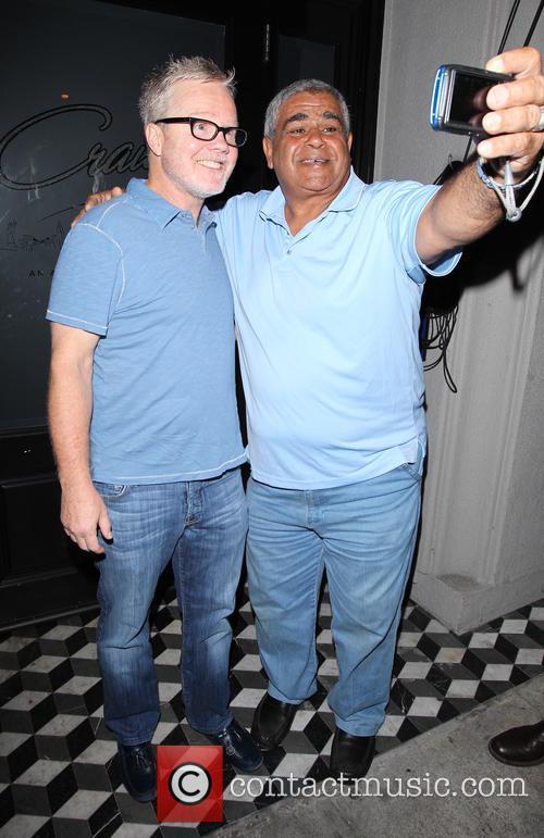 Celebrities visit Craig's restaurant