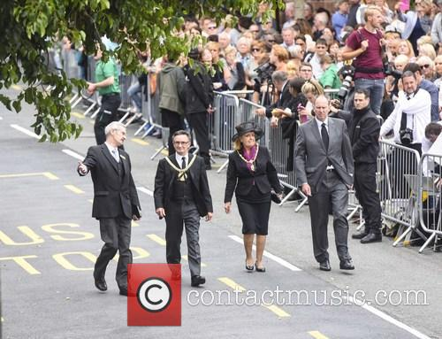 Cilla Black, The Lord Mayor and Mayoress Of Liverpool 2