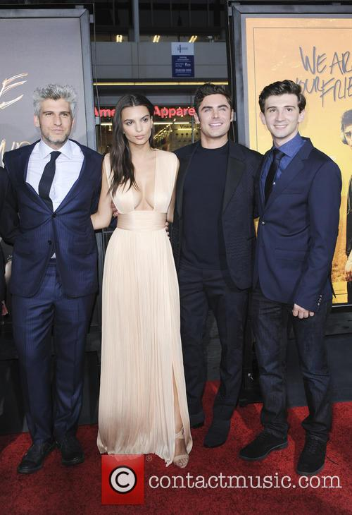 Max Joseph, Emily Ratajkowski, Zac Efron and Alex Shaffer 1