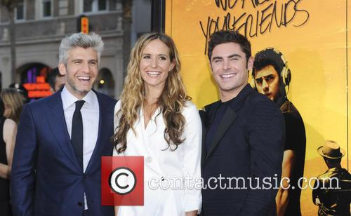 Max Joseph, Meaghan Oppenheimer and Zac Efron 1