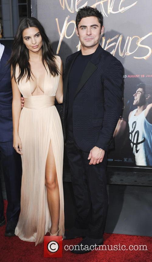 Zac Efron and Emily Ratajkowski 2