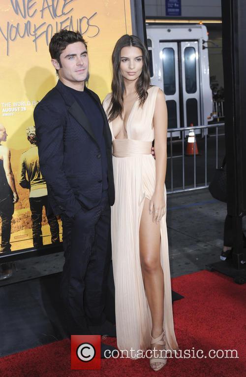 Zac Efron and Emily Ratajkowski 3
