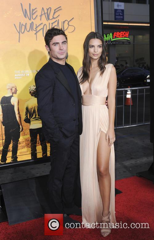 Zac Efron and Emily Ratajkowski 5