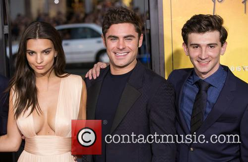 Emily Ratajkowski, Zac Efron and Alex Shaffer 2