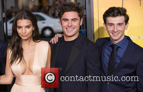 Emily Ratajkowski, Zac Efron and Alex Shaffer 3