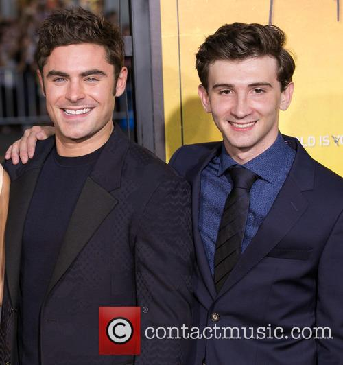 Zac Efron and Alex Shaffer 1