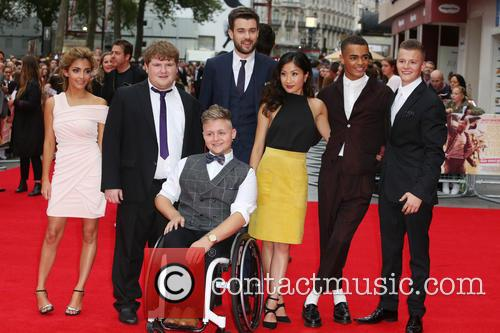 Cast, Jack Whitehall, Kae Alexander, Nikki Runeckles, Charlie Wernham, Layton Williams and Ethan Lawrence 1
