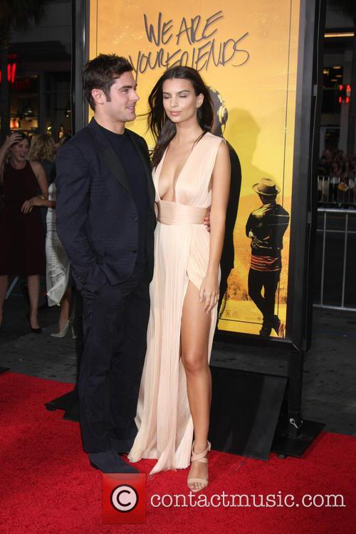 Zac Efron and Emily Ratajkowski 5