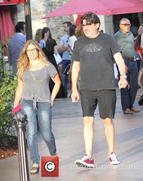 Alfred Molina goes shopping at The Grove with...