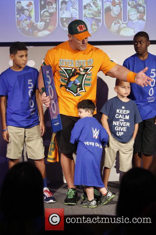 Make-A-Wish Foundation celebrates John Cena's 500th granted wish