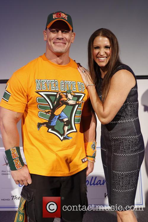 John Cena and Stephanie Mcmahon 2