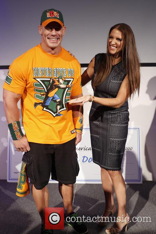 John Cena and Stephanie Mcmahon 1