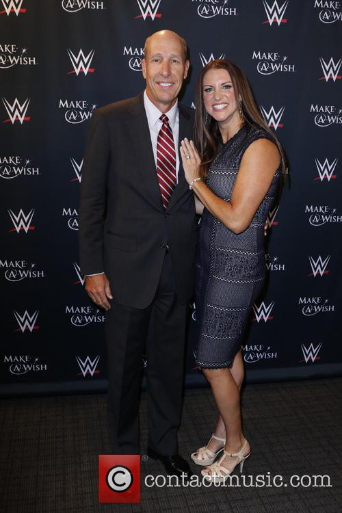 John Cena, Stephanie Mcmahon and David Williams 1