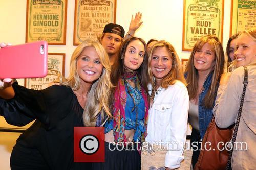 Christie Brinkley, Jack Brinkley Cook, Alexa Ray Joel and Sailor Cook 2