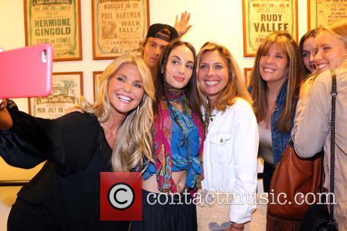 Christie Brinkley, Jack Brinkley Cook, Alexa Ray Joel and Sailor Cook 1